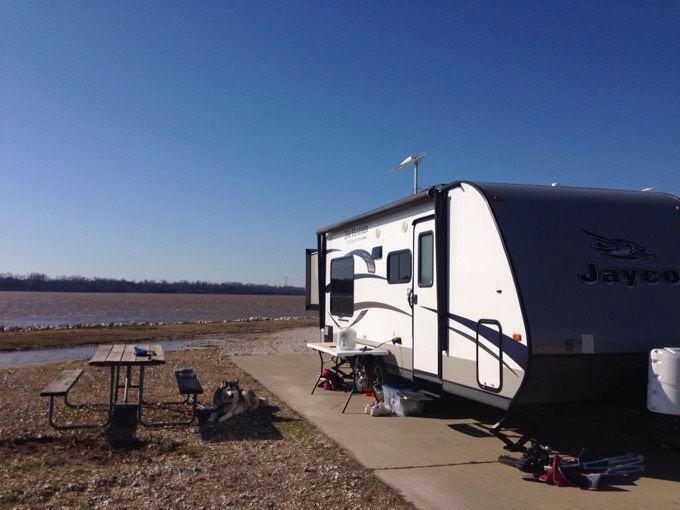 候鸟游德州(四):密西西比河岸边的第一个房车营地