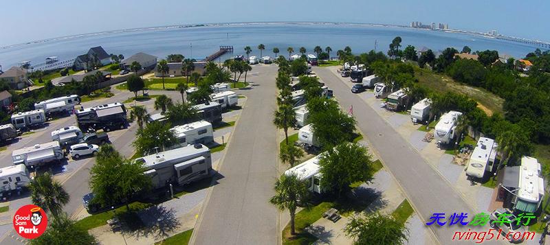 在北美去哪里找RV房车营地?