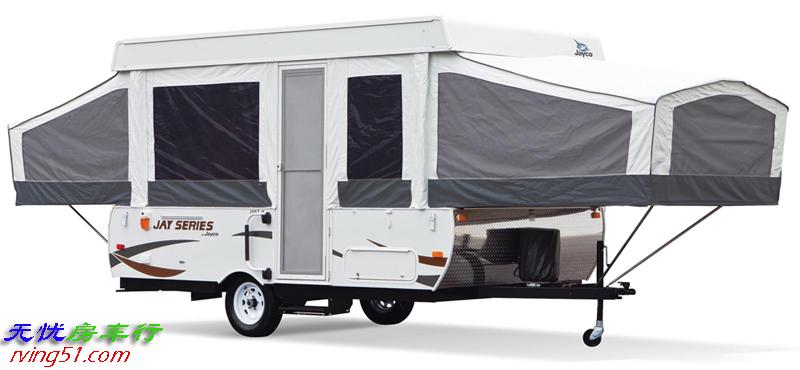 RV房车杂谈(七): 简单轻巧的折叠式房车,年轻人的露营神器