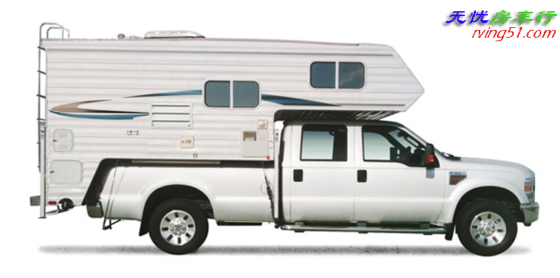 RV房车杂谈(八): 丑陋的皮卡驼背房车,探险者的工具