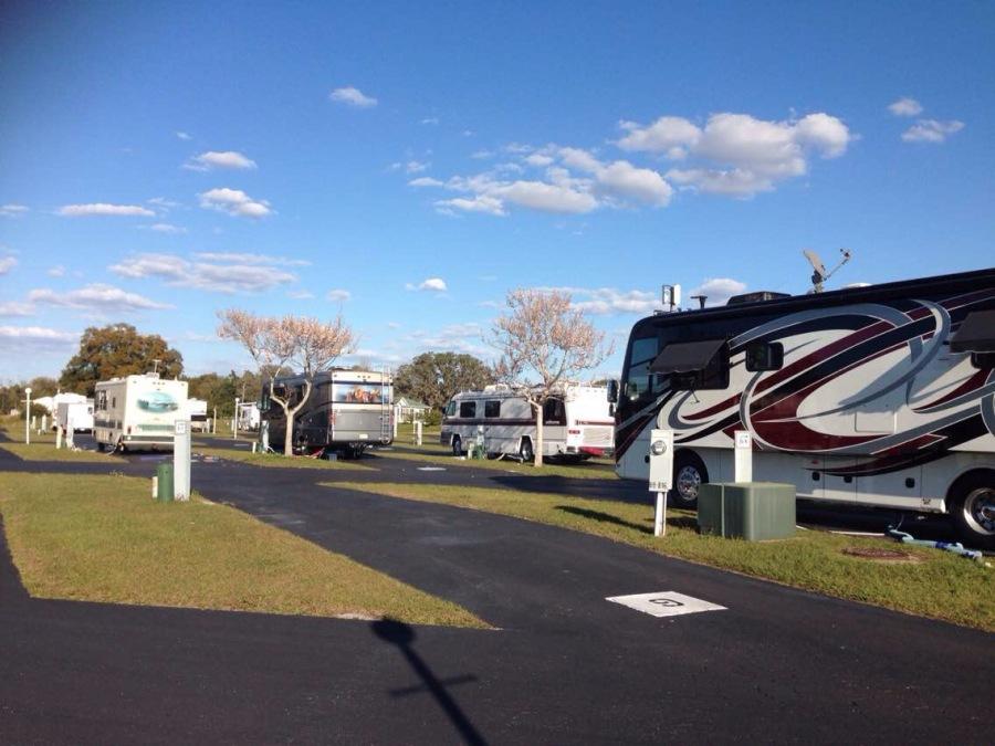 冬季到佛州来看海(二): 奥兰多的房车营地