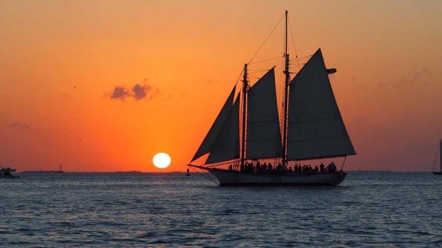 冬季到佛州来看海(五):Key West-镶嵌在大西洋中的水晶挂坠