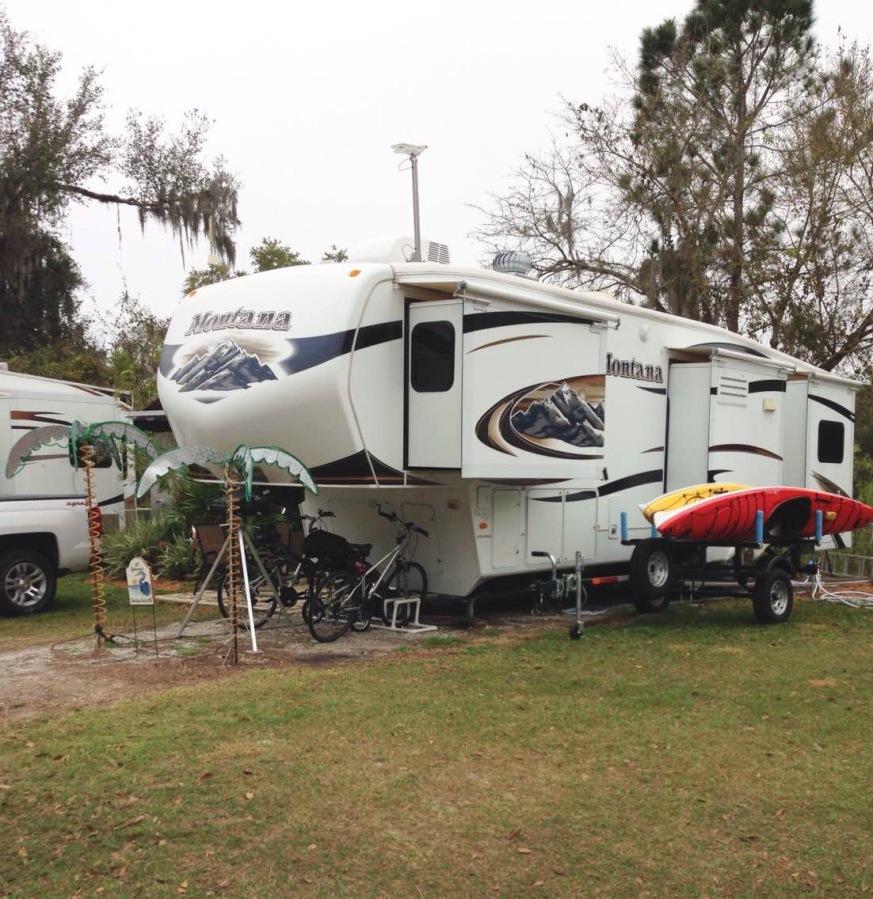 冬季到佛州来看海(八):房车营地的感受